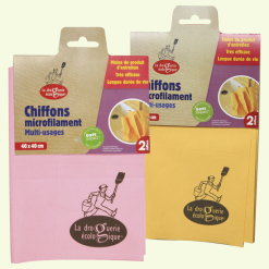 Chiffons microfilament multi-usages