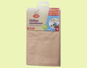 Chiffon microfilament surfaces délicates